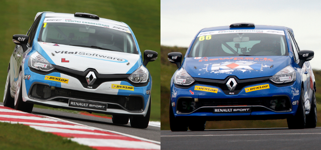 Bushell (Left) And Cook (Right) Went Head-To-Head For The Title - Credit: Jakob Ebrey Photography