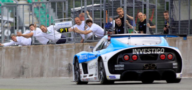 Robertson Gave His HHC Motorsport Team Plenty To Celebrate - Credit: Jakob Ebrey Photography