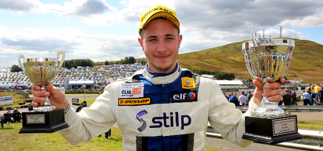 Stilp Added A Third Win Of The Year At Knockhill To His Croft Double - Credit: Jakob Ebrey Photography