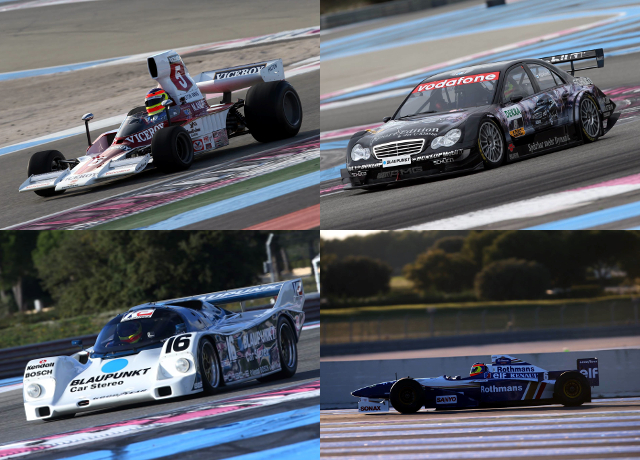 Formula 1, Sportscar And DTM Machinery Were In Action At Paul Ricard