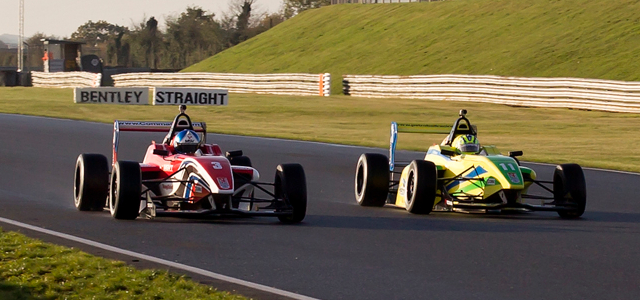 Palmer (Left) And Di Mauro (Right) Led The Field All Weekend - Credit: AS Autosport Photography