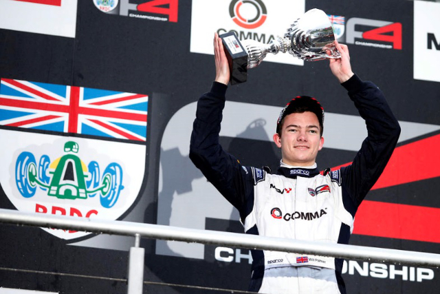 Will Palmer - Credit: BRDC Formula 4