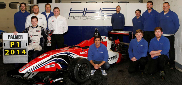 2014 BRDC Formula 4 Winter Champion Will Palmer - Credit: BRDC Formula 4