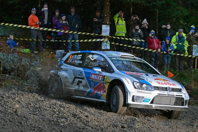 Sebastien Ogier, Wales Rally GB (Image: Volkswagen Motorsport)