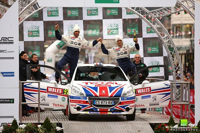 Ingram - Wales Rally GB 2014 Podium