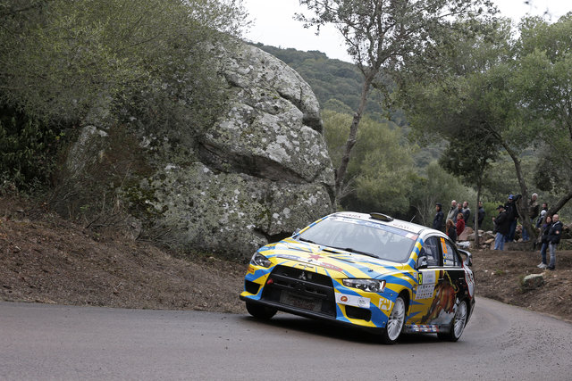 Vitaly Pushkar sealed the ERC Production Car Cup title