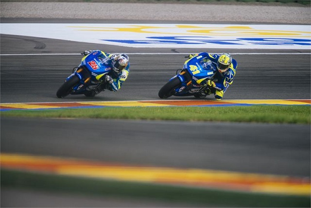 Suzuki were pleased with the performances of Espargaro and Vinales (Photo Credit: Suzuki Racing)