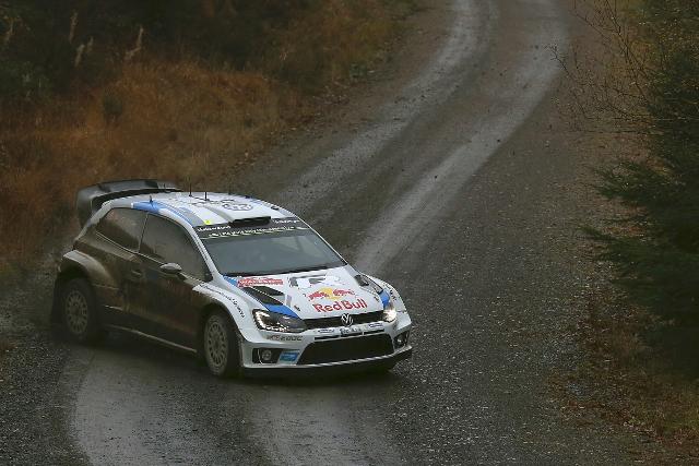 Sebastien Ogier, Wales Rally GB, day one (Image: Volkswagen Motorsport)