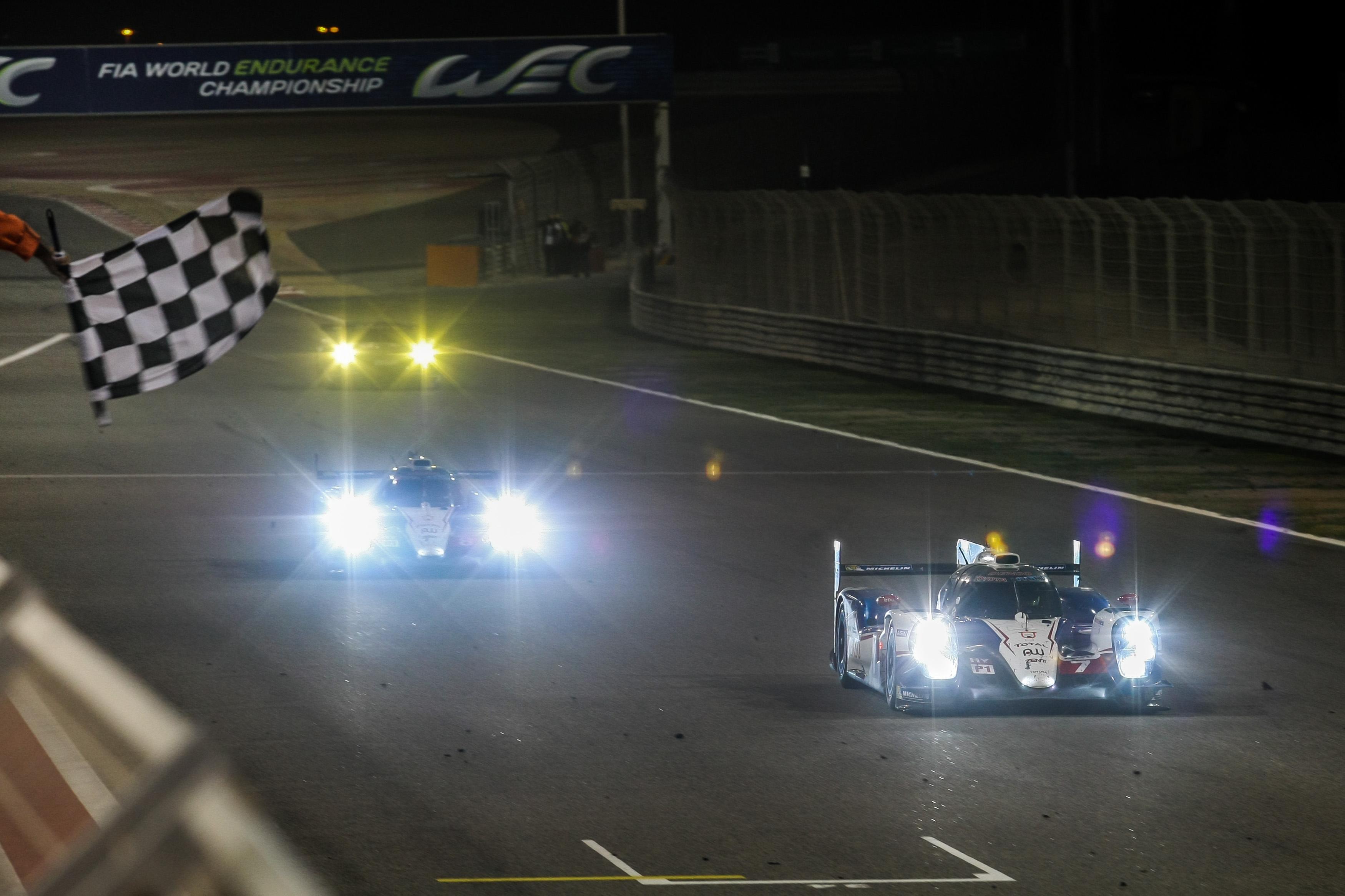Alexander Wurz (AUT) / Stephane Sarrazin (FRA) / Mike Conway (GBR) / Car #7 LMP1 Toyota Racing (JPN) Toyota TS 040 - Hybrid - 6 Hours of Bahrain at Bahrain International Circuit (BIC) - Sakhir - Kingdom of Bahrain