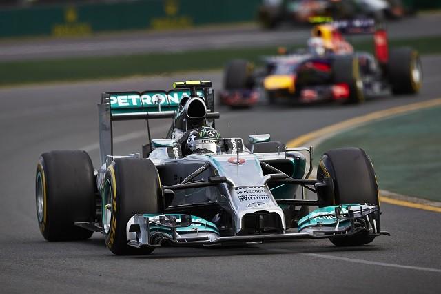 Nico Rosberg took victory in the season opener in Australia (Credit: MERCEDES AMG PETRONAS Formula One Team)