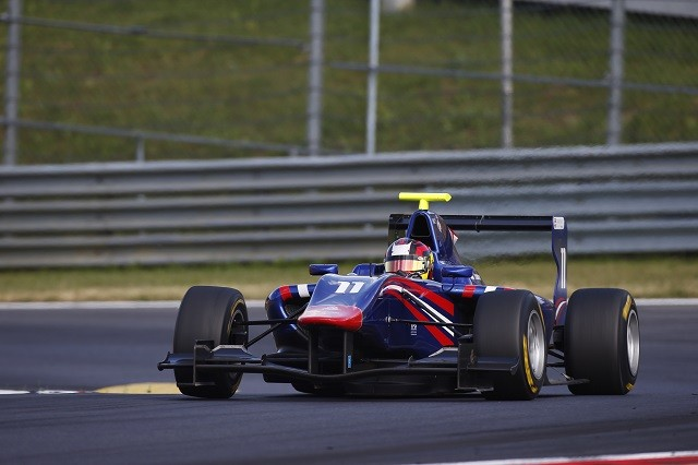 Emil Bernstorff was impressive coming through the field during the year (Credit: Glenn Dunbar/GP3 Series Media Service)
