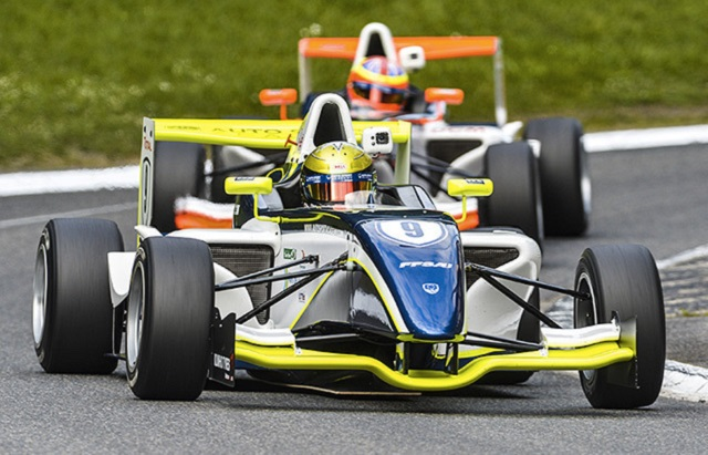 Dorian Boccolacci finished second in the French F4 standings (Credit: FFSA Auto Sport Academy)