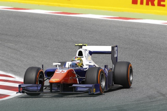 Johnny Cecotto Jr also took two wins during 2014 (Credit: Sam Bloxham/GP2 Series Media Service)