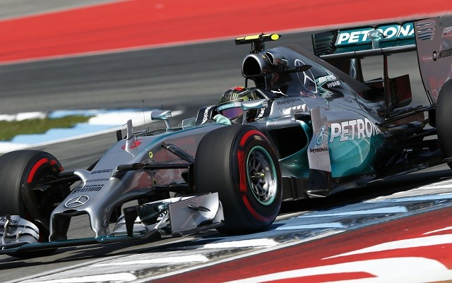 Nico Rosberg won in front of his home fans at Hockenheim (Credit: MERCEDES AMG PETRONAS Formula One Team)