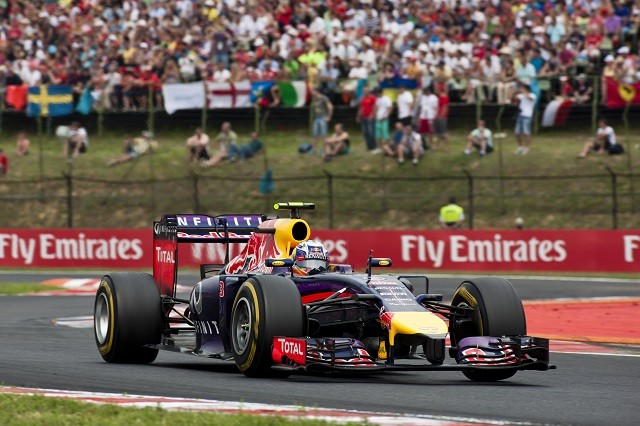 Daniel Ricciardo took a stunning Hungarian GP win (Credit: Drew Gibson/Getty Images)