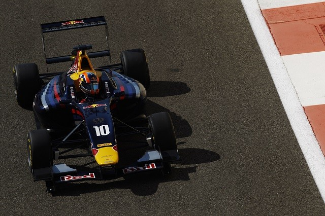 The Red Bull-backed Alex Lynn took the 2014 GP3 Series title (Credit: Sam Bloxham/GP3 Series Media Service)