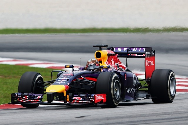 Sebastian Vettel took his first podium finish of the season in Malaysia (Credit: Mark Thompson/Getty Images)