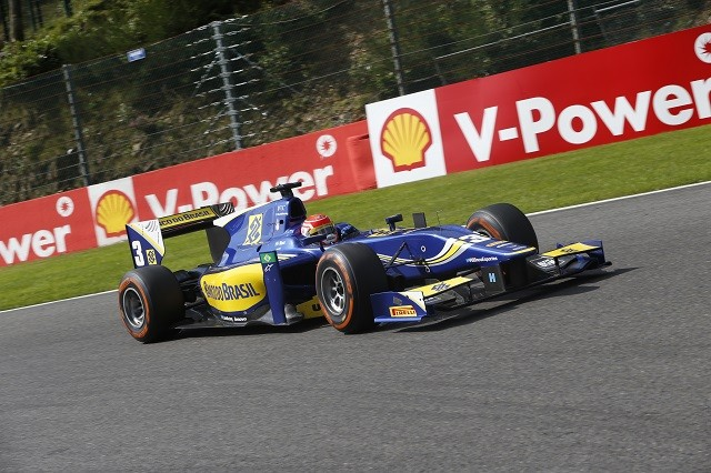 Felipe Nasr finished P3 in the championship and moves into F1 in 2015 (Credit: Jed Leicester/GP2 Series Media Service)