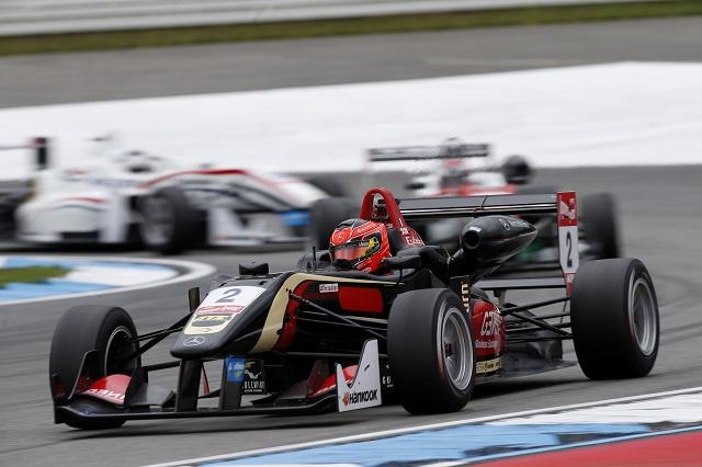 Esteban Ocon became the 2014 FIA European Formula 3 Champion (Credit: FIA Formula 3 European Championship)