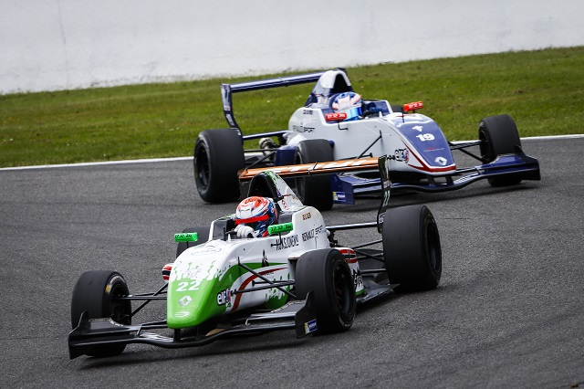 Dennis Olsen was second in the championship driving for Prema Powerteam (Credit: Frederic Le Floc'h / DPPI)