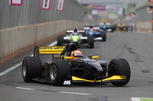 Markus Pommer won twice on his way to third in the Auto GP standings (Credit: Auto GP Organization S.r.l)