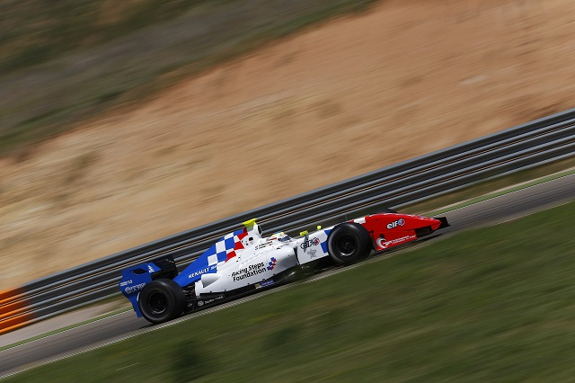 Oliver Rowland took two wins for his Racing Steps Foundation backed Fortec Motorsports team (Credit: Jean Michel Le Meur / DPPI)