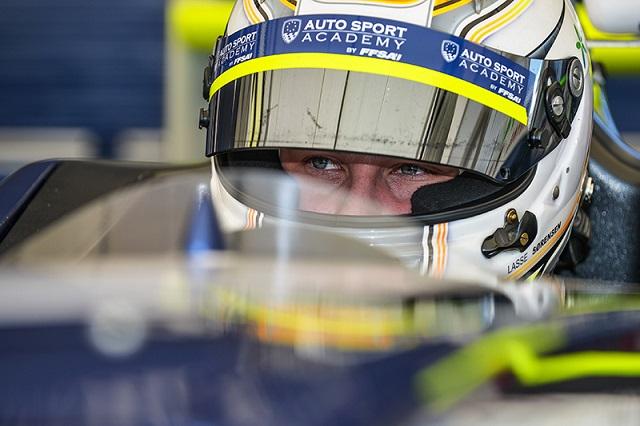 Lasse Sorensen was the driver to beat in 2014 (Credit: FFSA Auto Sport Academy)