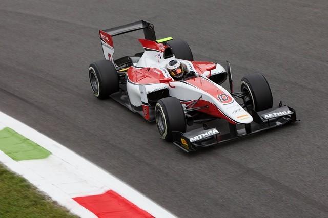 Stoffel Vandoorne also took four wins for ART Grand Prix, finishing P2 (Credit: Zak Mauger/GP2 Series Media Service)
