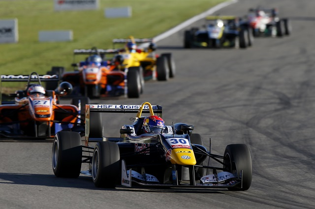 Max Verstappen moves up to F1 in 2015 after 10 wins in Euro F3 (Credit: FIA Formula 3 European Championship)