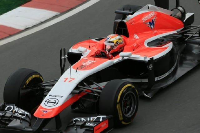 Jules Bianchi punched above his weight on more than one occasion during 2014 (Credit: Octane Photographic Ltd)