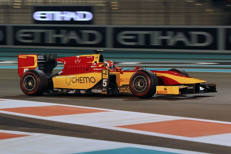 Marciello improved throughout the 2014 season, ending the year 8th in the championship (Credit: Octane Photographic Ltd)
