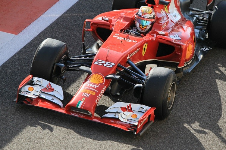 Marciello participated in the post-Abu Dhabi test with Ferrari (Credit: Octane Photographic Ltd)