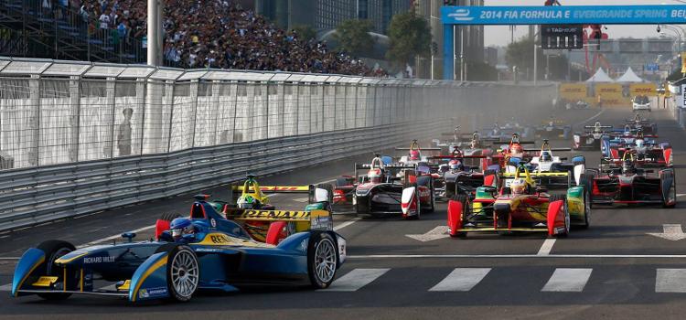Formula E ........ - Credit: FIA Formula E