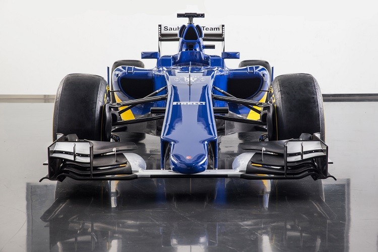 Sauber hope the C34 enables them to return to points scoring form in 2015 (Credit:  Sauber Motorsport AG)