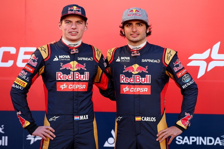 Toro Rosso will field rookies Verstappen and Sainz in 2015 (Credit: Mark Thompson/Getty Images)
