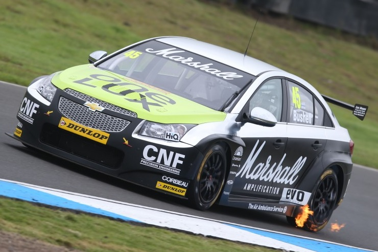The 25-year-old raced an IP Tech Chevrolet Cruze in one-off 2013 Knockhill outing (Photo: btcc.net)