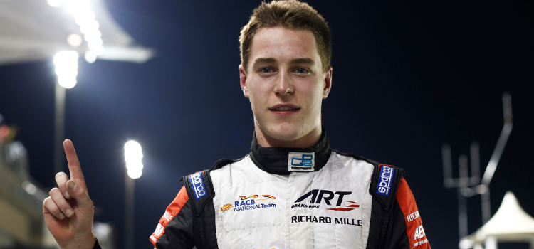 Stoffel Vandoorne ............ - Credit: Sam Bloxham/GP2 Series Media Service