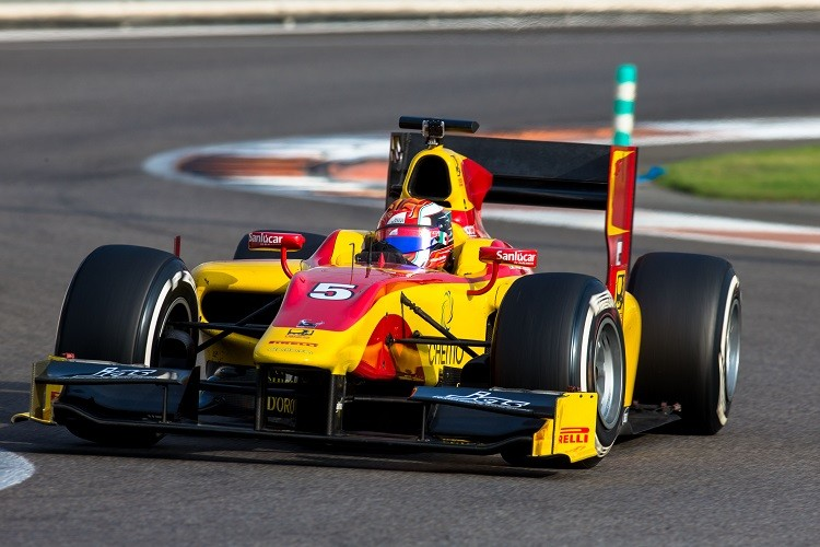 The Italian moved up into the GP2 Series in 2014 (Credit: Malcolm Griffiths/GP2 Series Media Service)