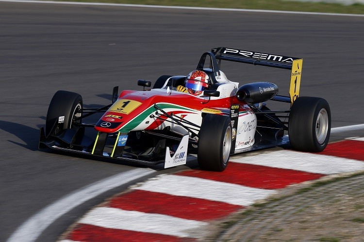 Raffaele Marciello was the 2013 European F3 Champion (Credit: FIA Formula 3 European Championship)