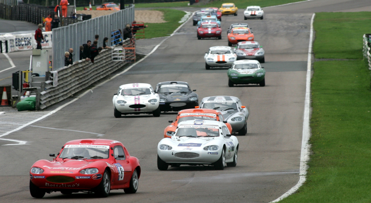 The Ginetta Juniors Enjoyed Big Grids In 2008 With The Older G20 Model - Credit: Jakob Ebrey Photography
