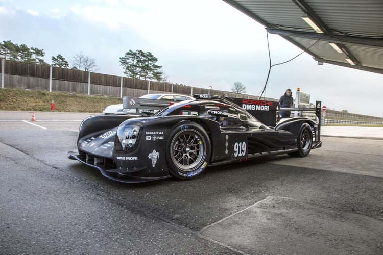 New Porsche 919 Hybrid to make track debut this weekend