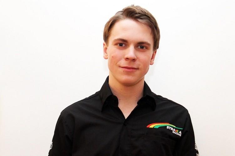 Gustav Malja will be racing in Strakka Racing colours this season (Credit: Strakka Racing)