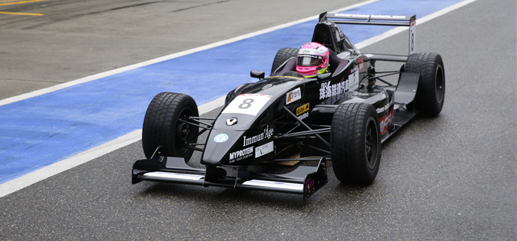 Powell Continues To Make A Name For Herself In Formula Renault - Credit: FRD Motorsports