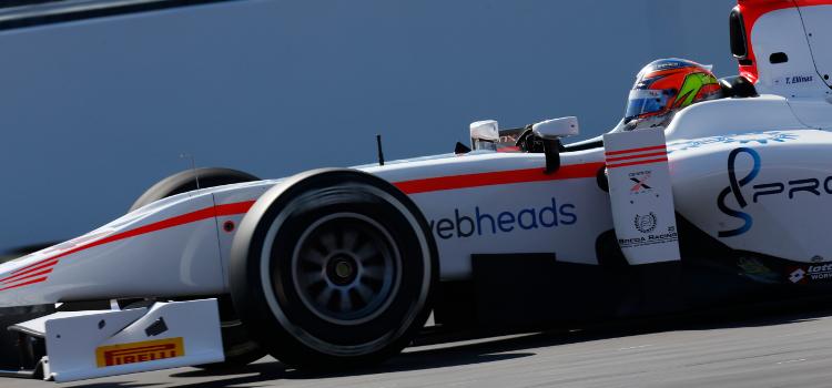 Ellinas Picked Up GP2 Experience In 2014 - Credit: Sam Bloxham/GP2 Series Media Service