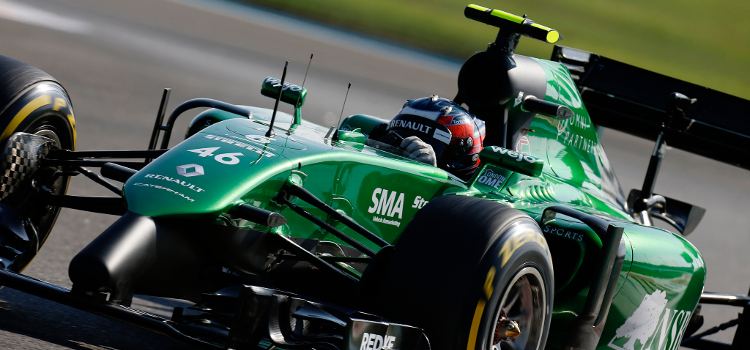 Stevens Got His Formula One Breakthrough With Caterham - Credit: Alastair Staley/LAT Photographic