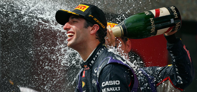 Ricciardo ..... - Credit: Infiniti Red Bull Racing