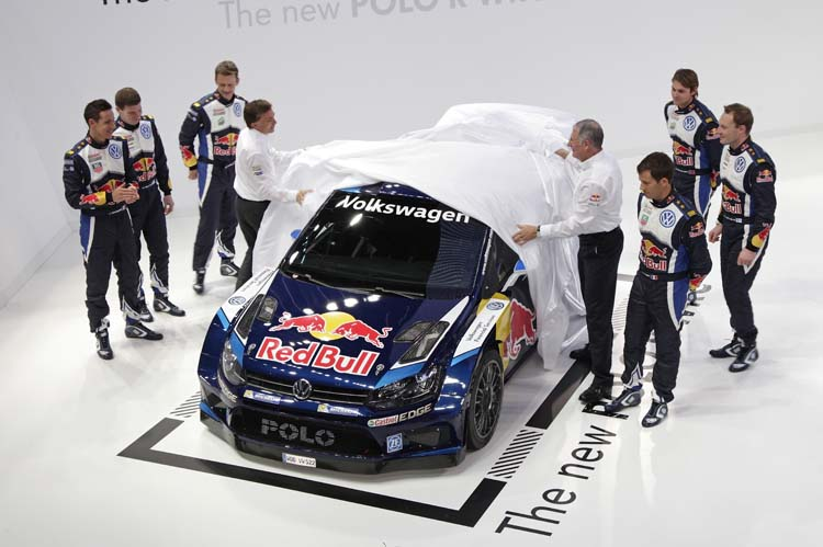 Volkswagen launch 2015 FIA World Rally Championship contender