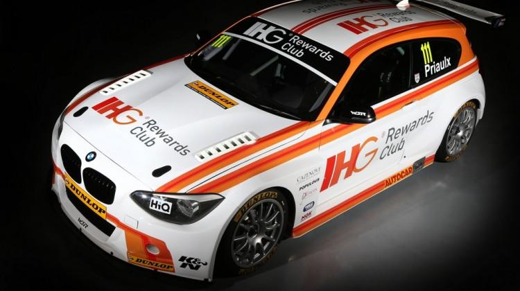 Priaulx BTCC 2015 car