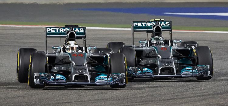 F1 Bahrain - Credit: Mercedes AMG Petronas