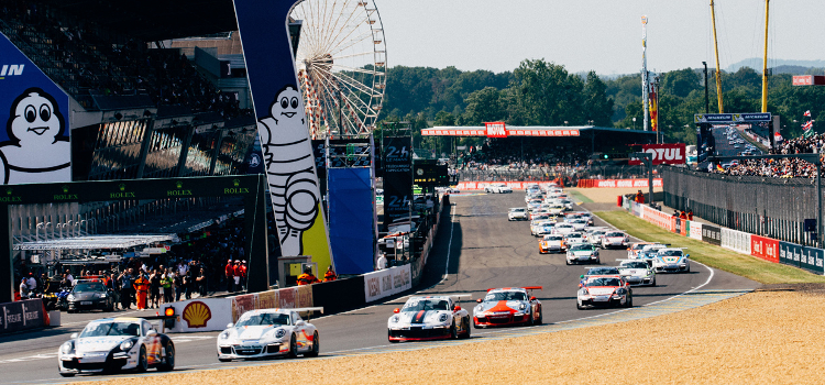 Le Mans Porsche - Credit: Trackside GB